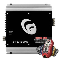 Amplificador Stetsom Vulcan 3k3 Eq 2 Ohms + Controle Sx1 Som