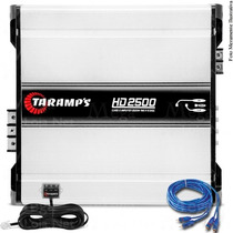 Modulo Amplificador Taramps Hd2500 W Rms Mono Mega Loja Net