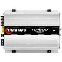 Módulo Amplificador Taramps Tl-1500 390w Rms 3x Rca + Sedex