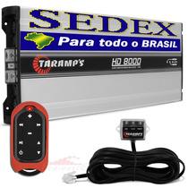 Módulo Taramps Hd-8000 + Controle Longa Distância Tlc-3000