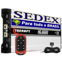Módulo Taramps Hd-5000 + Controle Longa Distância Tlc-3000