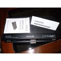 Modulo Amplificador Voyager 4000w 1200rms 4ch Pronta Entrega