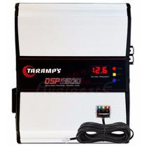Módulo Amplificador Taramps Dsp-2500w Rms Voltímetro + Sedex
