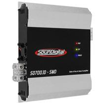 Modulo Amplificador Soundigital Sd700.1d Smd 700w Rms 1 Ohms