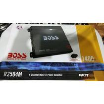 Módulo Boss Riot 1400w De 04 Canais Som Automotivo