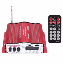 Mini Modulo Amplificador Usb Sd Radio Fm E Mp3 4 Canais