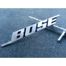 2 Emblemas Alumínio Bose Sound Audi Fusion Jetta Passat