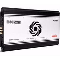 Módulo Booster Ba-2100.4 - 3000w 4 Canais Mosfet 1500 Rms