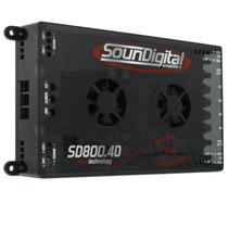 Soundigital Evo Modulo Sd800 Sd 800 4 Canais Som + Frete