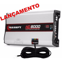 Amplificador Taramps Hd-8000 C/ Voltimetro Lançamento 1 Ohms