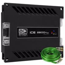 Módulo Banda Ice 2500 W Rms 2 Ohms Amplificador Digital