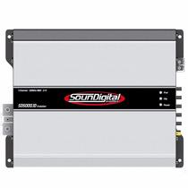 Amplificador Soundigital Sd5000.1 Evo Modulo 5000 Rms 2 Ohms