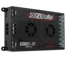 Modulo Sd800.4 800w Rms 4 Canais Potencia Rca Soundigital