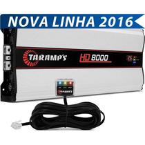 Taramps Hd 8000 Amplificador Digital 9595w Rms +brinde+frete