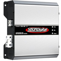 Modulo Soundigital Sd1200 Evolution 1 Ohm 1200w Rms