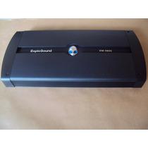 Módulo Amplificador Explosound 4 Canais Xm-3600 1400 W Rms