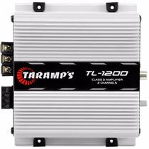 Módulo Amplificador Taramps Tl 1200 260w Rms 2 Canais