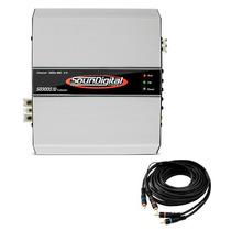Módulo Soundigital Sd3000.1d Sd3000.1 Sd3000 3000w Rms Nf