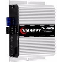 Potência Automotiva Taramps Tl600 170 Watts Rms Som 2 Canais
