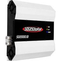 Módulo Amplificador Soundigital Sd2000 2kw Rms Oferta S Hoje