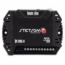 Amplificador Iron Line Ir 280.4 280w Rms 2 Ohms De 9 A 15v