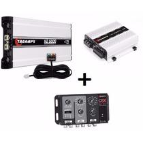 Modulo Taramps Hd 5000 1 Ohm + Ts 400x4 + Crx Compact 2 Vias