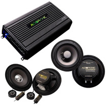 Kit Audiophonic C/ 1 Ks 6.1 + 1 Cs650 (220w Rms) + 1 Hp4000