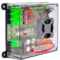 Amplificador Soundigital Sd250.1d Sd 250w Rms Auto Som Rca