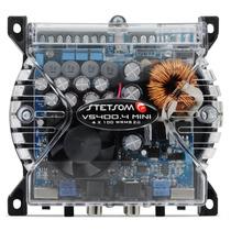 Modulo Amplificador Stetsom Vs 400.4 Mini 400w Rms 2 Ohms
