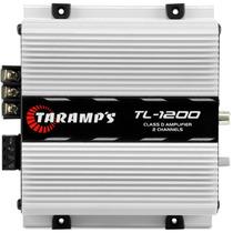 Modulo De Potência Taramps Tl1200 2 Canais 260w Rms Digital