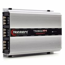 Potência Taramps Ts800 X4 Modulo Amplificador 800w 4 Canais