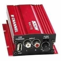 Amplificador De 500 W, Para Carros 44,90 Reais.