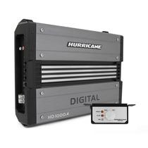 Módulo Amplificador Hurricane Hd 1000.4 *oportunidade Unica*
