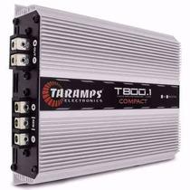 Módulo Amplificador T500 Digital 500w Rms Taramps 2 Ohms
