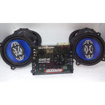 Modulo Soundigital 400.4 + Kit De Auto Falantes Orion 6 E 6