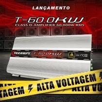 Modulo Amplificador Taramps T 60 Hv 60.000 Rms High Voltage