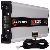 Módulo Amplificador Hd-8000 Taramps 8000w Rms +monitor+sedex