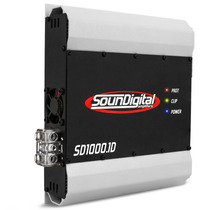 Amplificador Soundigital Sd1000 1000w Rms + Frete + Brinde