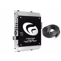 Módulo Amplificador Stetsom Vulcan 1k6 1600w Rms Mono + Rca