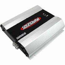 Módulo 2500 W 2500 Rms Sound Digital