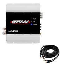 Módulo Soundigital Sd1000.1d Sd1000 Sd1000.1 1000w Rms Nf