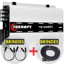 Modulo Taramps Ts 400x4 Ts400 W Rms + Cabo Rca +frete Gratis