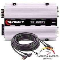 Modulo Taramps Ts400 T400 Digital 400 Rms + Cabo Rca + Frete