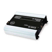 Modulo Amplificador De Som Boog D2k5 1 Canal 2500w Rms 2ohms