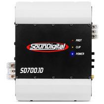 Módulo Soundigital Sd700.1d - 1 Canal Mono/stereo 700w Rms