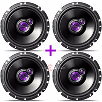 Kit 04 Auto Falantes 6 Pioneer Up Fox Golf 200w Rms Original
