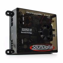 Módulo Digital Sd250.1d - 300 Watts Rms Soundigital