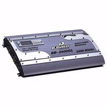 Módulo Digital B.buster Bb-2400gl 2400w 4 Canais