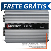 Potencia Automotiva Taramps T500 500 Wrms Digital + Frete