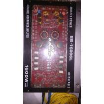 Modulo Mono E Estereo 4 Saidas /hbuster 1600 Watts Rms ,$250